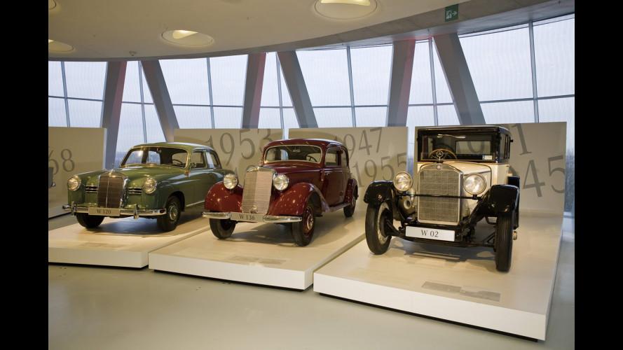 """Classe E Evolution"" al Mercedes-Benz Museum"