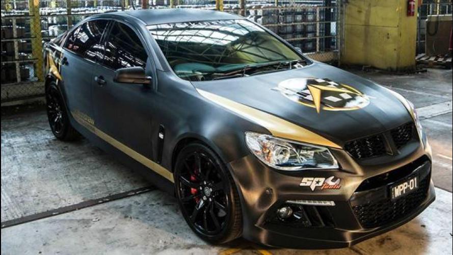 Holden Commodore, l'australiana diventa più cattiva