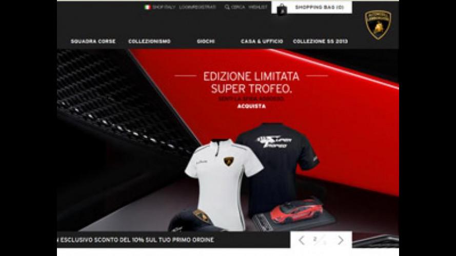 Nuovo sito Lamborghini in occasione del 50° anniversario