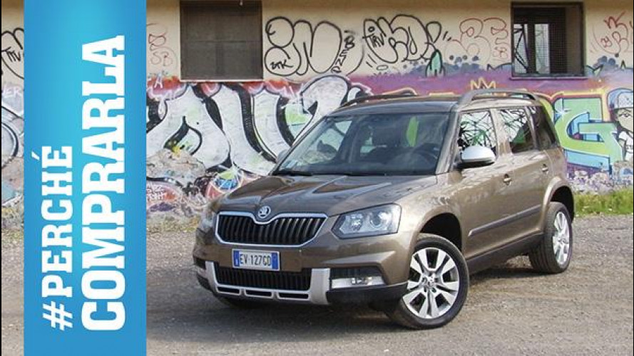 Skoda Yeti Outdoor, perché comprarla… e perché no [VIDEO]