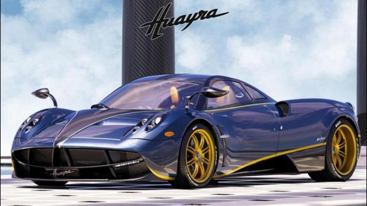 [Copertina] - Pagani Huayra 730 S, ne esiste una sola al mondo