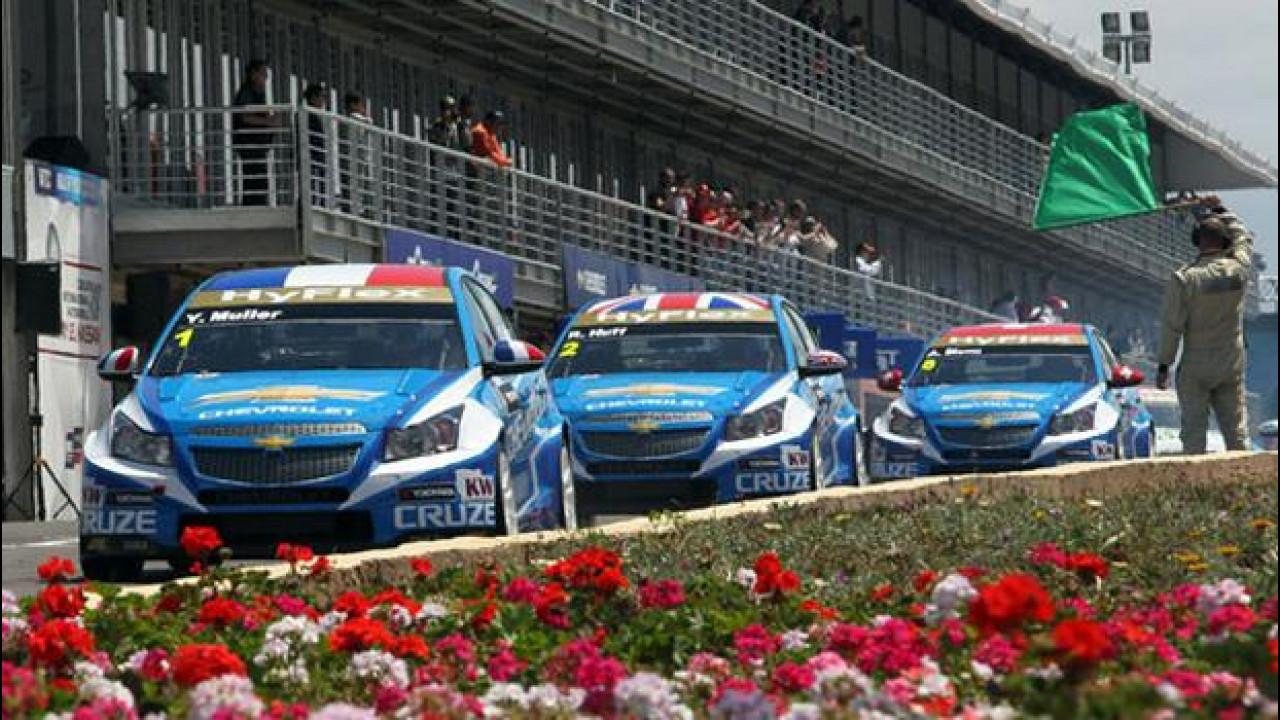 [Copertina] - WTCC: Chevrolet schiacciasassi in Marocco