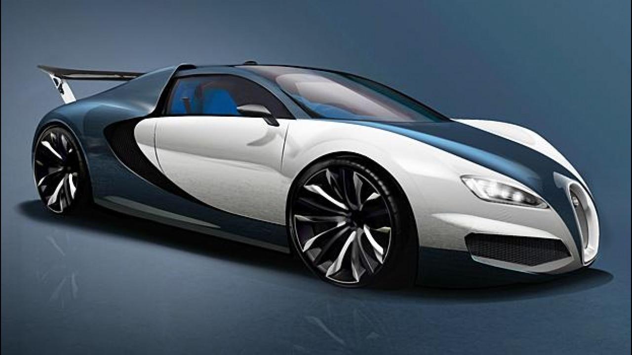 [Copertina] - Bugatti Veyron, un futuro ibrido da 1.500 CV