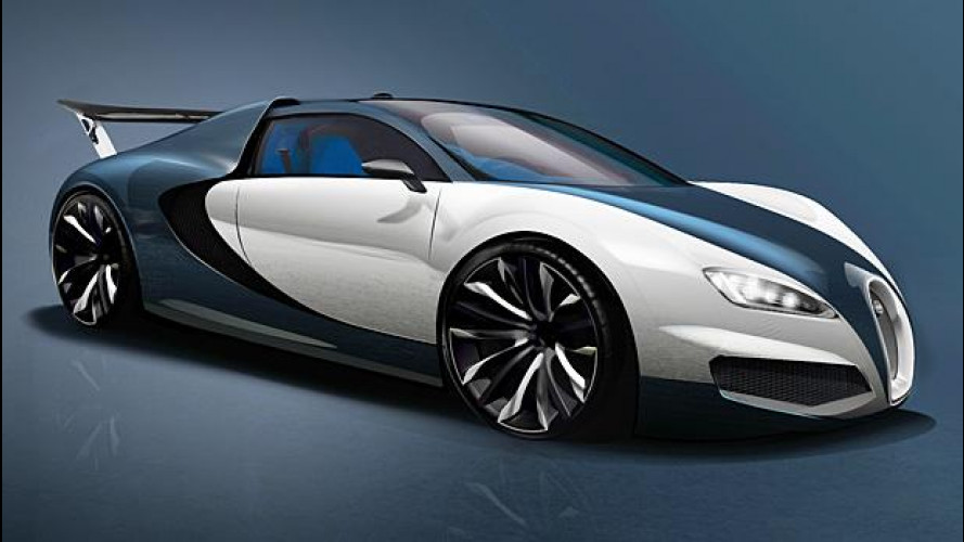 Bugatti Veyron, un futuro ibrido da 1.500 CV