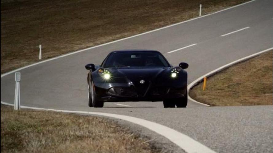 Alfa Romeo 4C: allo studio una versione da 300 CV