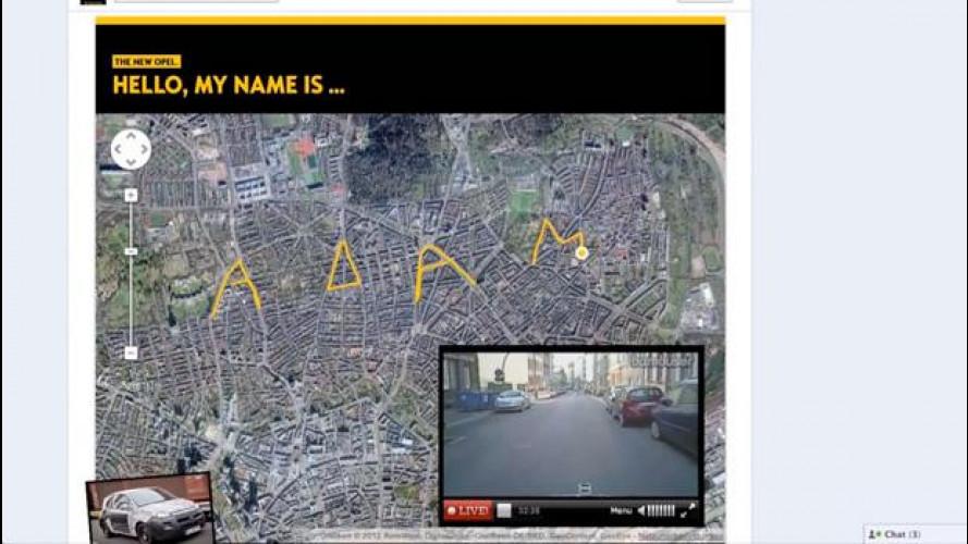 Opel Adam scrive il suo nome per le strade di Francoforte