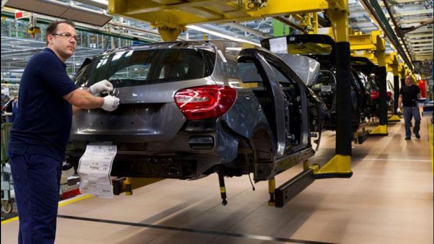 Nuova Mercedes Classe A, avviata la produzione