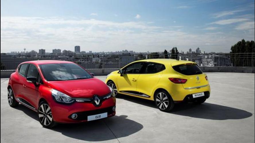 Nuova Renault Clio, prezzi da 13.500 euro