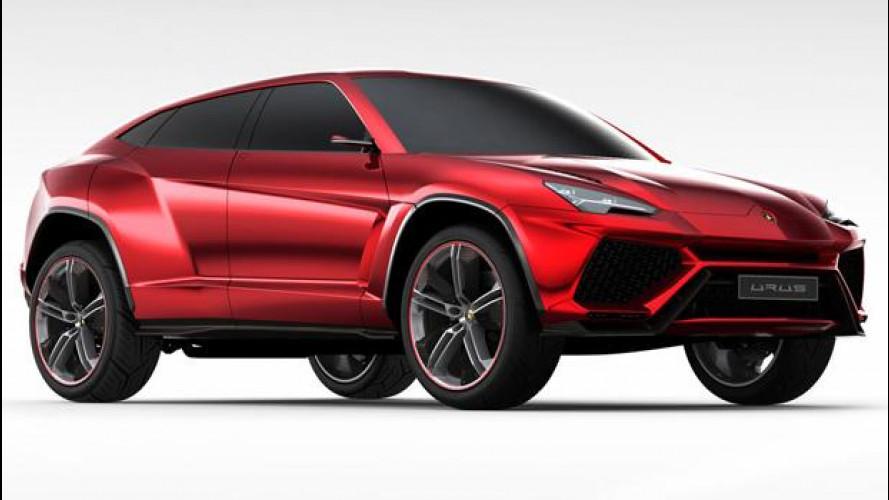 Lamborghini Urus: forse in vendita dal 2017