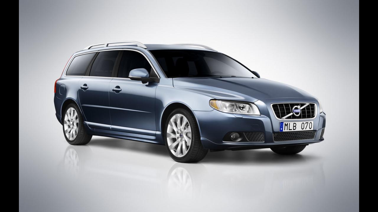 Volvo V70 model year 2012