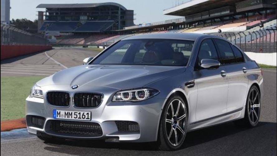 BMW M5 restyling