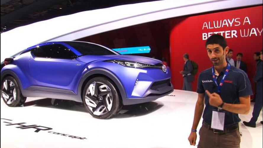 Salone di Parigi: Toyota C-HR, audacia manga