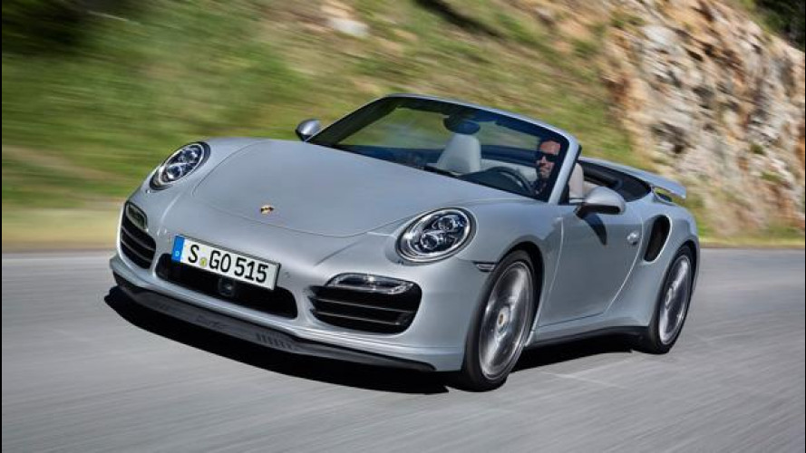 Porsche 911 Turbo e Turbo S Cabriolet