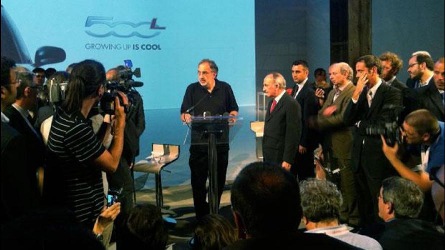 """Marchionne ribadisce: """"In Italia c'è uno stabilimento in più rispetto alle necessità"""""""