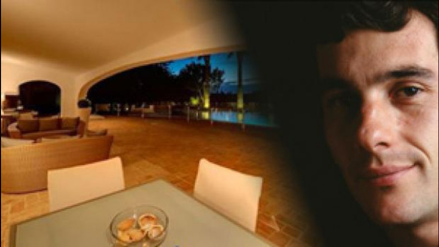Ayrton Senna, la sua spettacolare villa è in vendita
