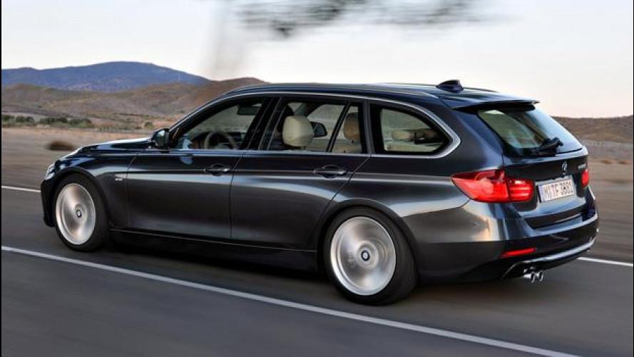 Nuova BMW Serie 3 Touring: prezzi da 31.850 euro