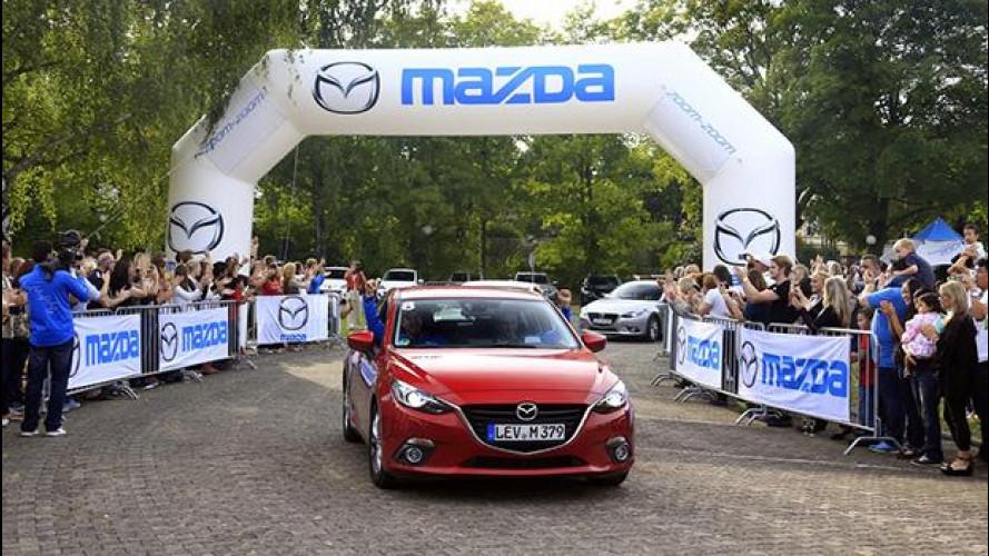 """Mazda Route3, siamo """"primi"""" a Francoforte"""