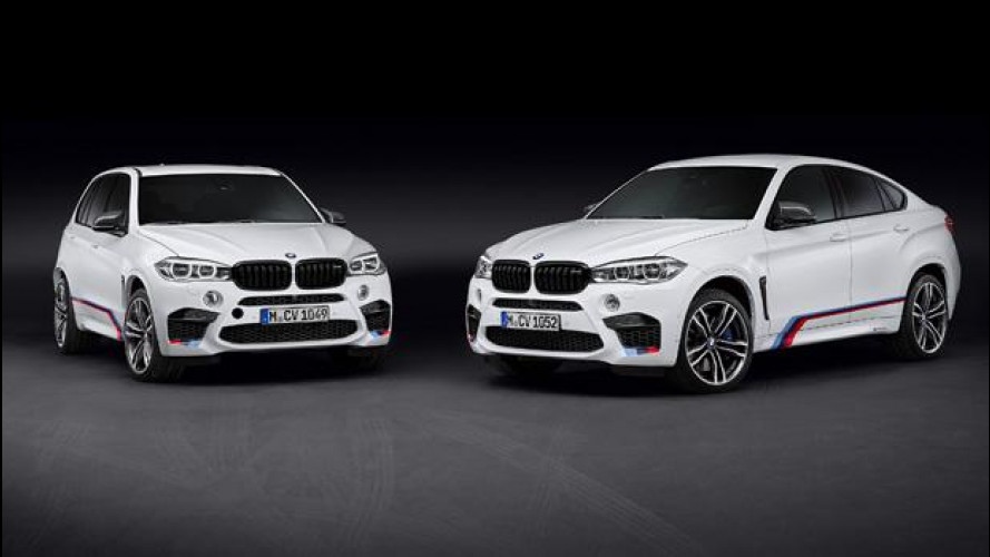 BMW X5 M e X6 M, sempre più cattive con M Performance Parts