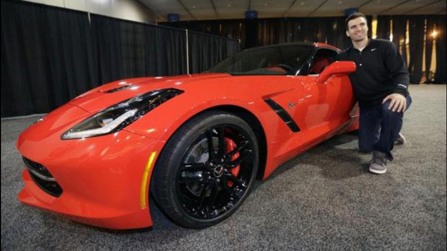 Super Bowl 2013, al campione Joe Flacco una Chevrolet Corvette Stingray