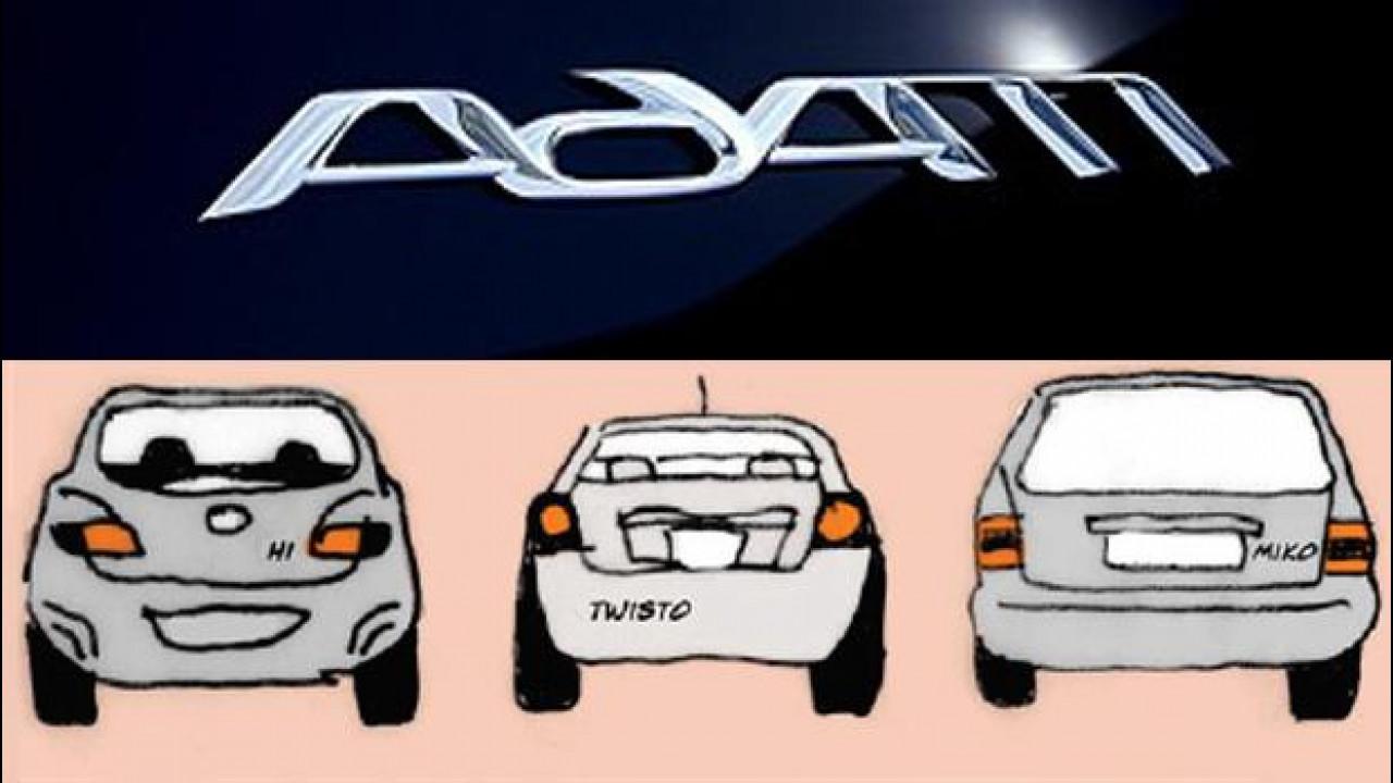 [Copertina] - Opel Adam, svelato il logo