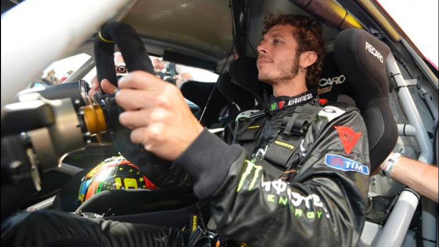 """Valentino Rossi ora """"corre"""" su Audi"""