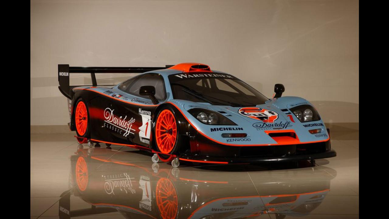 In vendita una rara McLaren F1 GTR