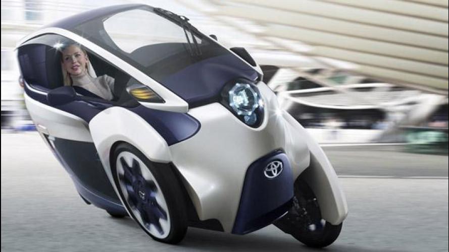 Toyota i-Road, su strada nel 2014