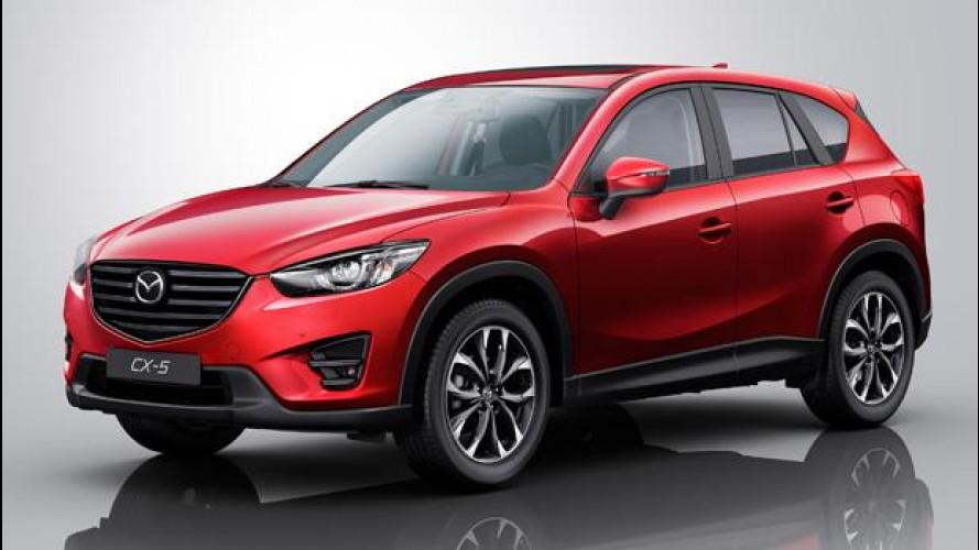[Copertina] - Mazda CX-5, lieve facelift per il 2015