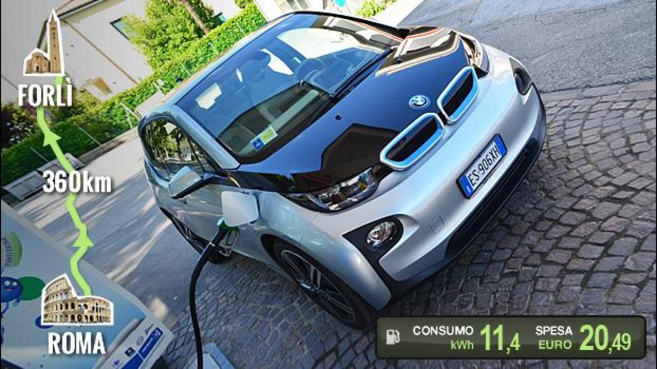 [Copertina] - BMW i3 REx, la prova dei consumi