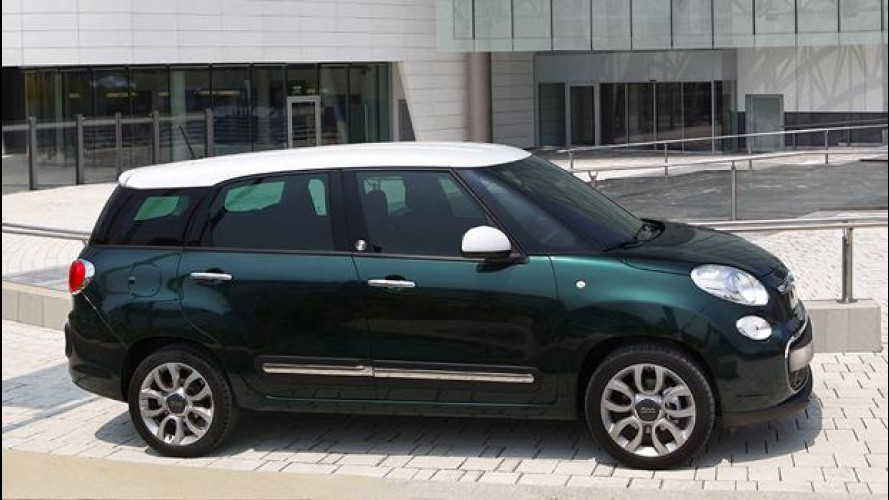 Fiat 500L Living con il 4G di Vodafone
