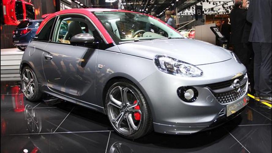 Salone di Parigi, Opel Adam S tira fuori gli artigli