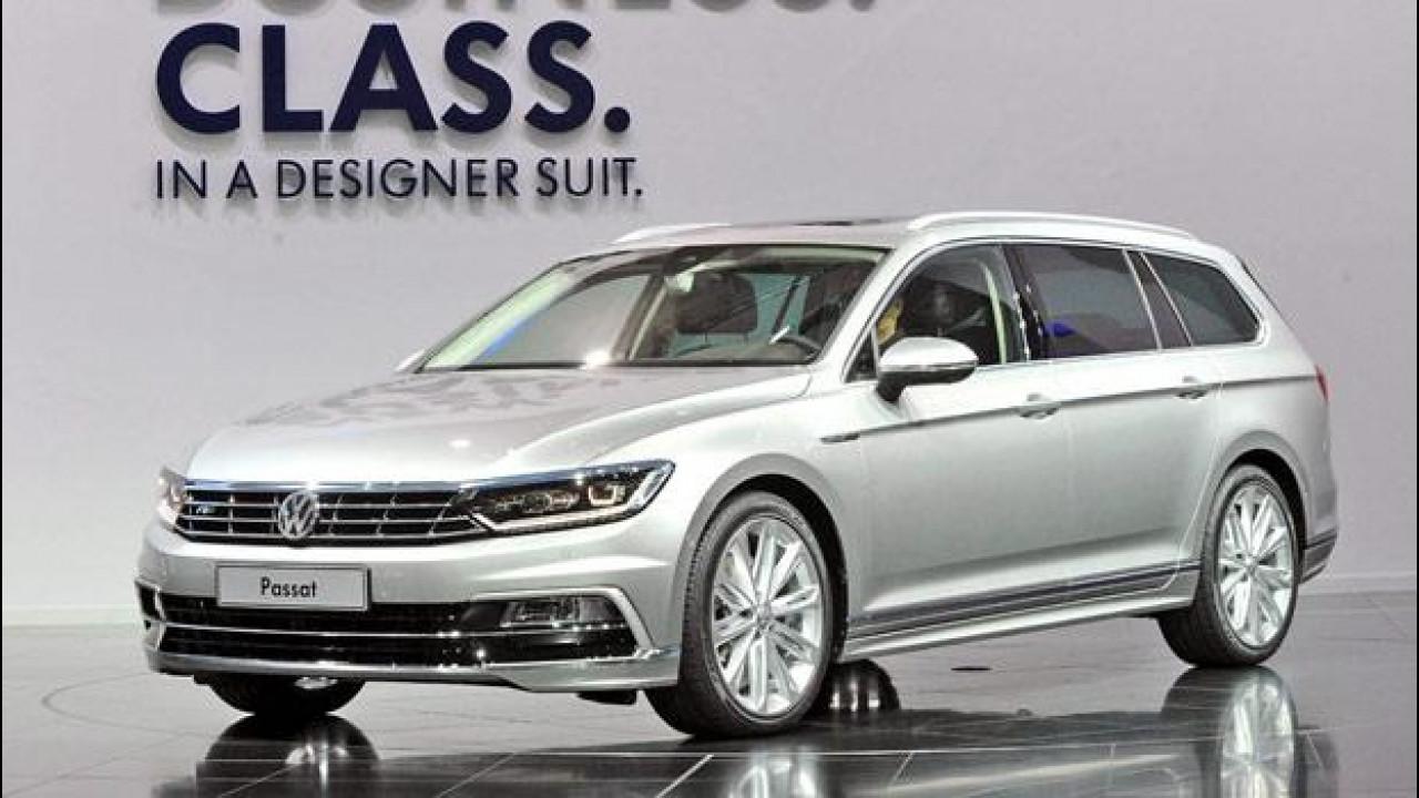 [Copertina] - Nuova Volkswagen Passat, vista dal vivo