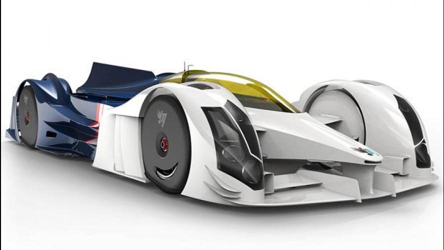 InMotion IM01, aerodinamica estrema per Le Mans
