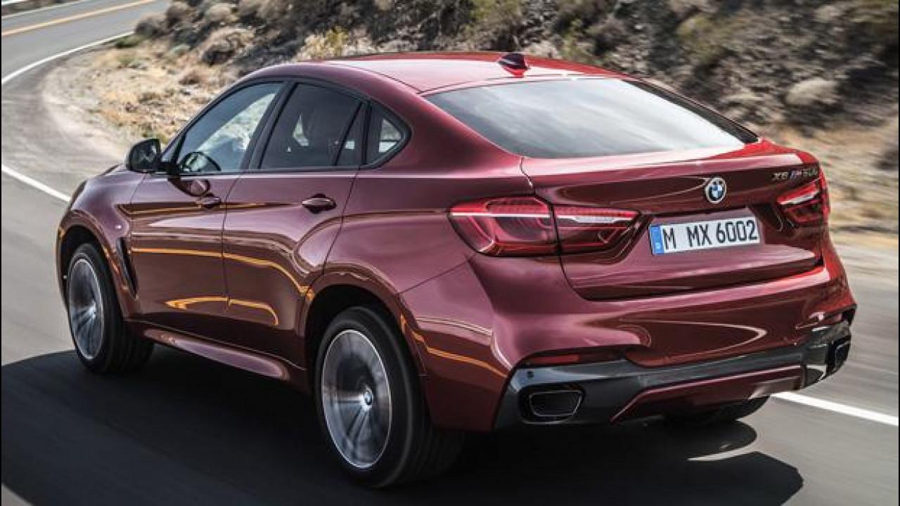 [Copertina] - BMW X6, non chiamatela SUV!