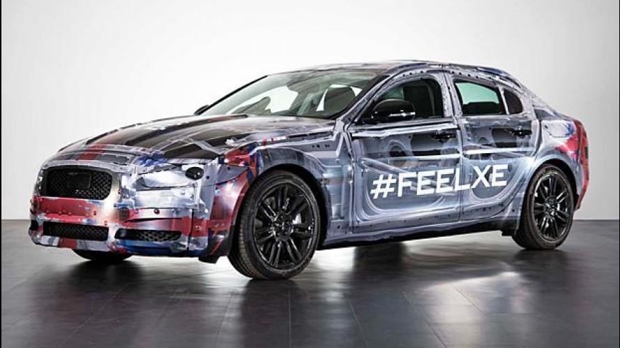 Jaguar XE: la nuova berlina debutta l'8 settembre