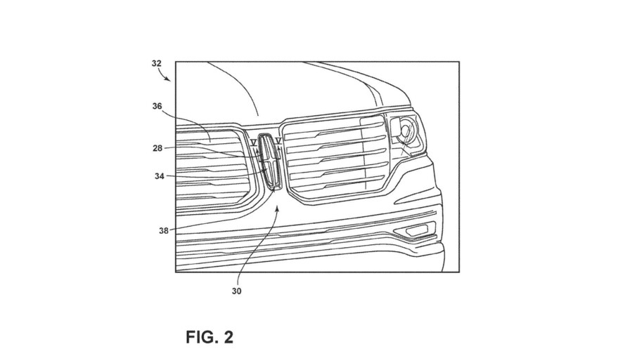 Ford Illuminated Badge Patent