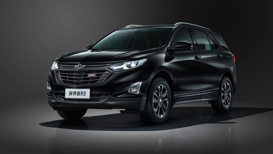 Chevy Equinox Gets Sporty RS Badge In China