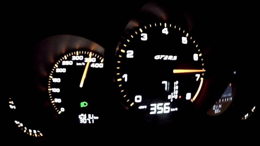 Porsche 911 GT2 RS Reaches 221 MPH To Prove It's Brutally Fast
