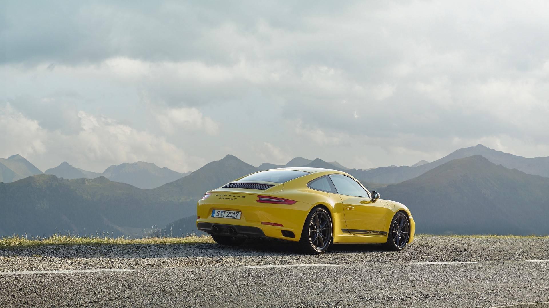 4b70328e60 Nouvelle Porsche 911 Carrera T (2018) - Fondement historique