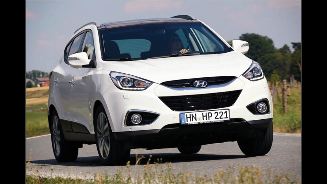 Platz 6: Hyundai ix35