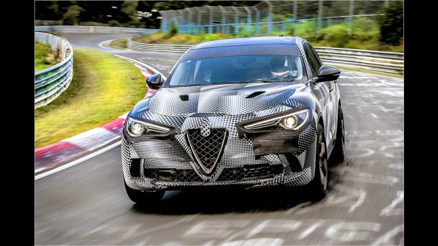 Video: Alfa Stelvio knackt SUV-Rekord