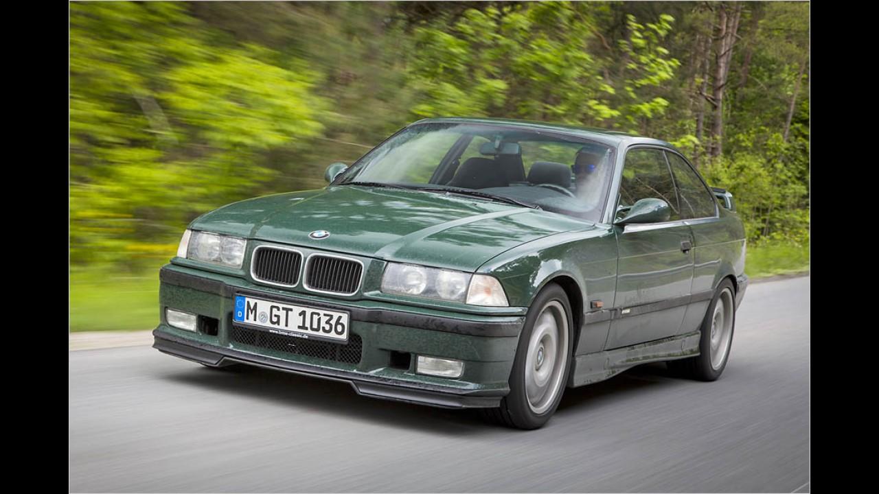 Platz 7: BMW M3 (E30/E36)