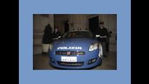 La Fiat Bravo della Polizia