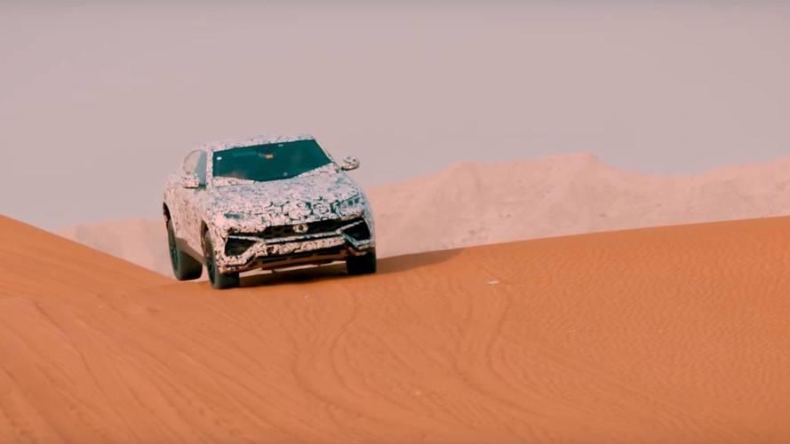 Sivatagi csapatáshoz is remek társ lesz a Lamborghini Urus
