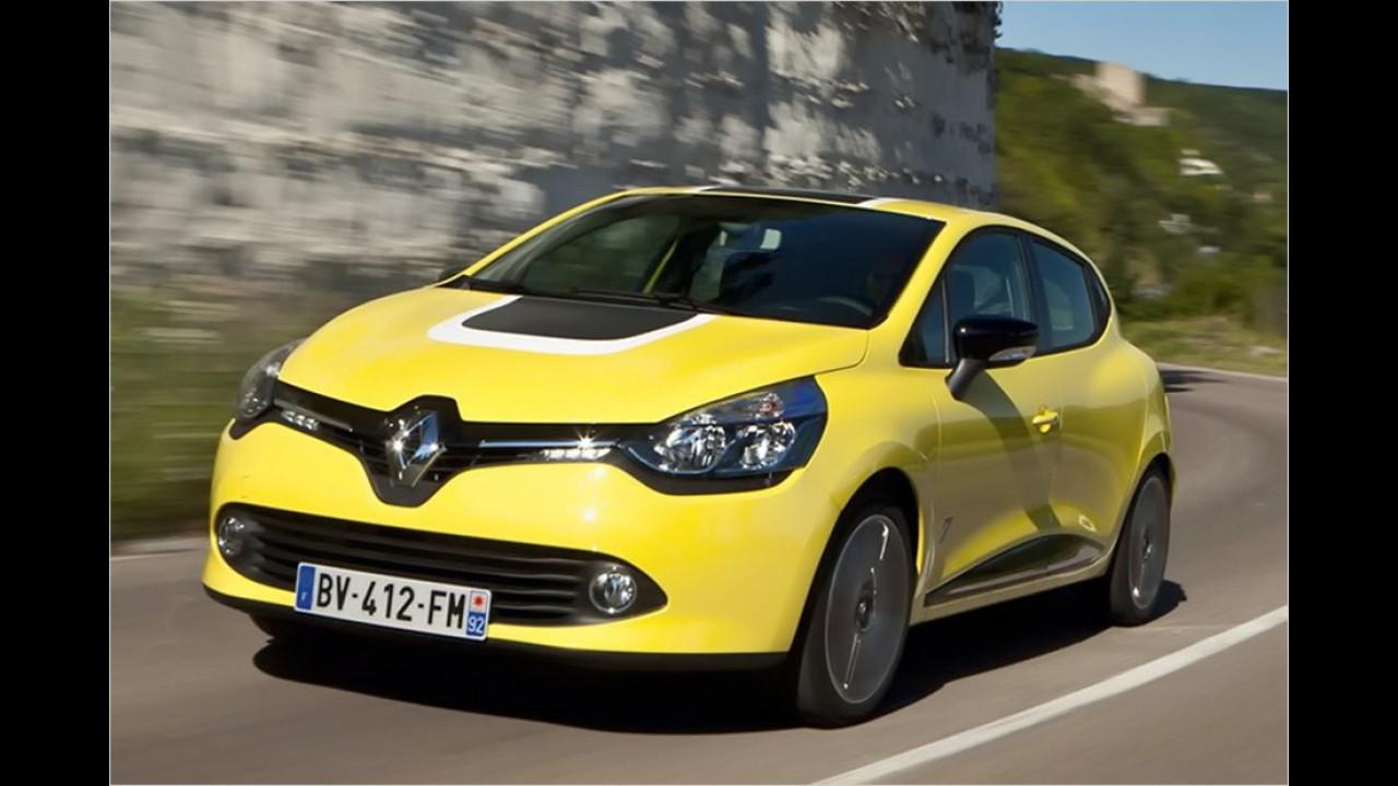 Platz 10: Renault Clio (300 Liter)