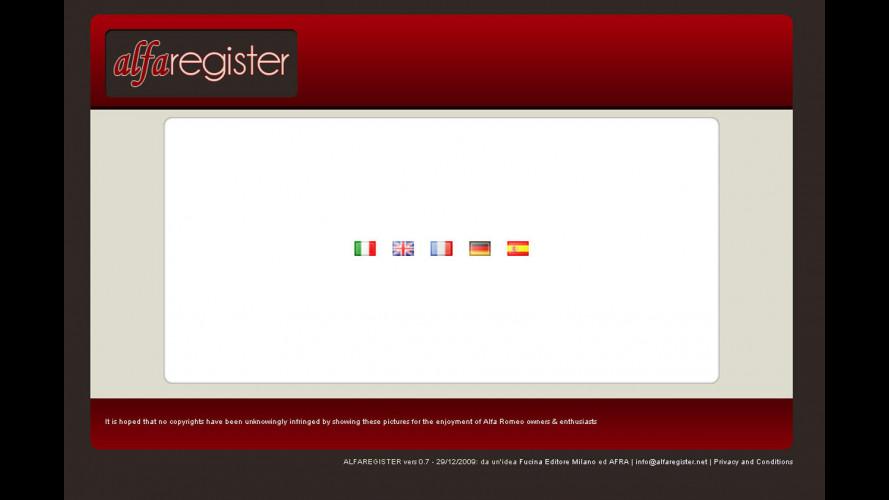 2010: è nato l'AlfaRegister