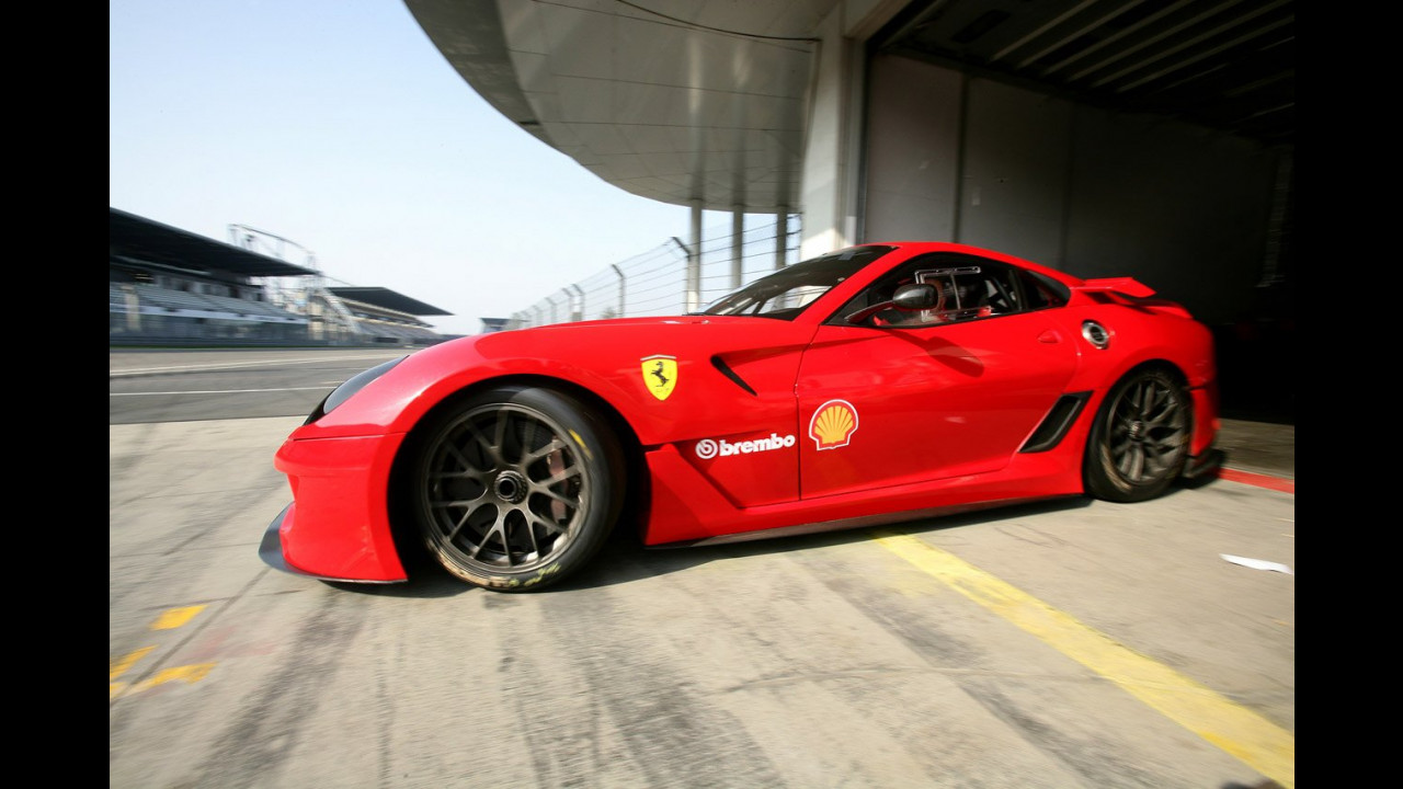 La Ferrari 599XX al Nurburgring