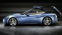 Ferrari California in Azzurro California blue