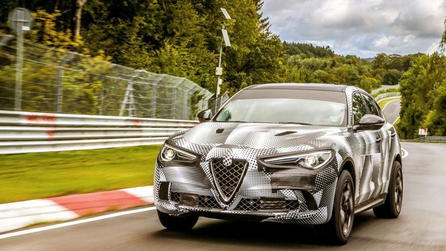 Alfa Romeo Stelvio rekord