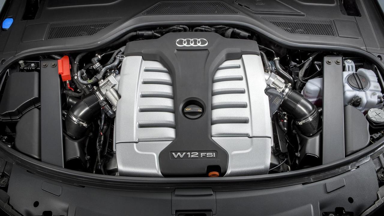 Audi A8 L with W12 engine
